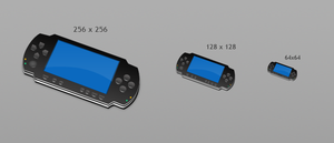 Icons. PSP. WIP by KriGH