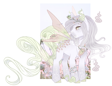 {Auction - Closed} Garden Fairy Solutai Pony by S-Adopts