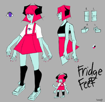 Fridge Feet Reference by taichifujisakis