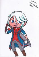 Chibi Nero DMC4 by Britno