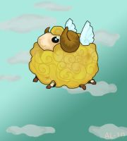 Golden sheep by xMandy92x