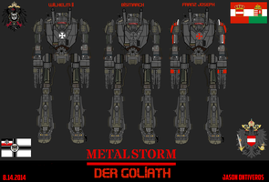 METAL STORM: Diesel punk DER GOLIATH by fORCEMATION