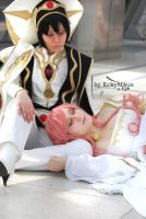 Lelouch and Euphemia by Naru-kawaii-chan