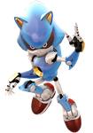 Yet another Metal Sonic render by JaysonJean