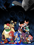 Sonic the Fighters- 2nd Place by darkburraki