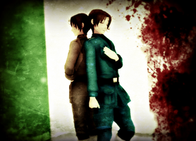 Italy Brothers Wallpaper by Ask-The-Italys