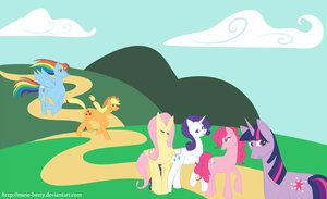 my little ponies by marie-berry
