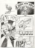 Class Comic pg 1 by moshimouse