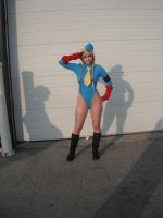 Cammy Pose by CosplayButterfly