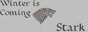 Lords of Winterfell - House Stark by blackhavikgraphics