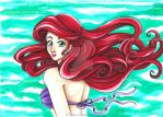 Ariel The Little Mermaid (La Sirenita) by CrisAngy88