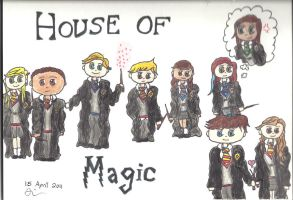 """""""House of Magic"""" Promo-thing by Ice-Princess-93"""