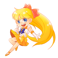 Sailor Venus by rossamon
