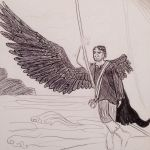 The One Winged Man by a-portrait-in-time