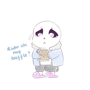 The sad story of sans' baffle part 1 by Dreamforxver