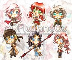 Extra-SD-Project FFXIII by oOFlorianeOo