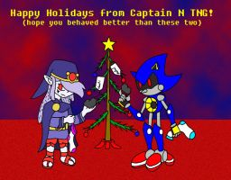 Captain N holiday filler by Wakeangel2001