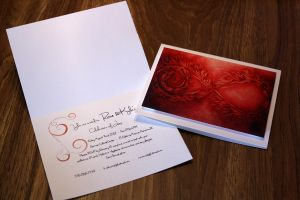 Phoenix dragon - Wedding invites by LadySiubhan