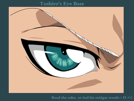 Toshiro's Eye Base by RandomHatThieff