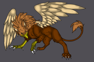 gryphon by Spaik-The-Wolf