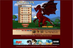 Dragonfable comic series Dragon choice#2:FireBlaze by ligr77