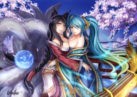 Sona y Arhi (legaue of lengends) by Rukachanpb