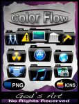 Black folders colorflow by Sebbiegod