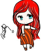 Chibi Adoptable ~ 13 -NAME YOUR PRICE- by BiahAdopts