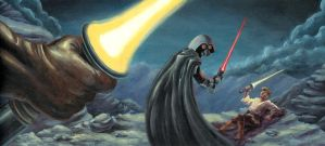Sith Fight by rdeckard