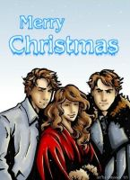 Weasley Christmas picture by odyssey01
