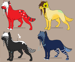 10 point scenedog adopts OPEN by CeliaDoesAdopts
