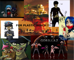 For Plastic Beach by gorillazmichelle