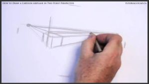 Learn How To Draw A Cartoon Airplane 002 by drawingcourse