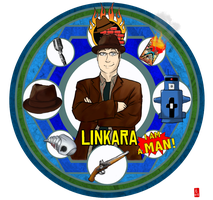Wheel of Awesome: Linkara by Wuselig