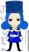 Chibi Juvia~ by Danchoou