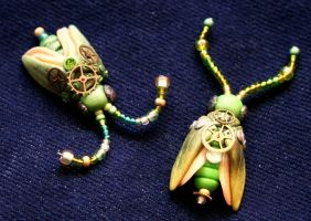 Steampunk Bugs by bgerr