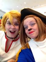 Finny and Captain Amelia- Jafax 2014 by Chocochino11