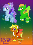 Brightwings 001 : Seasons [3/3 OPEN] by RicePoison