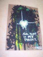 your heart is my target by artsn