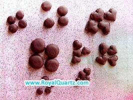 Small Brown Macaroons by royalquartz