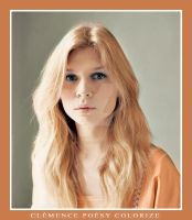Clemence Poesy Colorization by glacial-breath