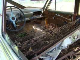 Old Car Interior by ThruCarolsEyes-Stock by ThruCarolsEyes-Stock