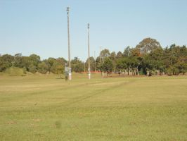 football field stock by avenueimage