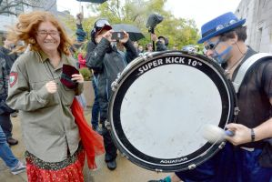 2014 Honk Festival, Chaotic Noise Up Close 3 by Miss-Tbones