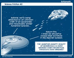 Science Friction #2 by schizmatic