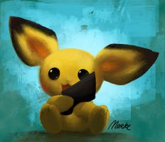 Important Announcement - Pichu by Norke