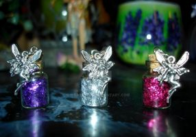 Fairy Dust - Bottle Charms by Wilhelmine