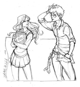 James and Lily by Robbertopoli