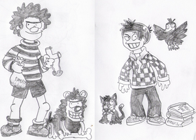 Beano people by eddsworld