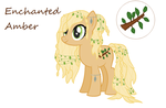 MLP OC - Enchanted Amber by HowlingWolf64